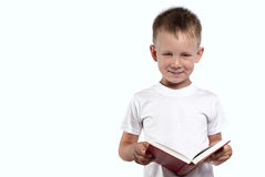 Reading it`s a cool ! Stock Photos