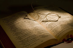 Reading Scripture Royalty Free Stock Images