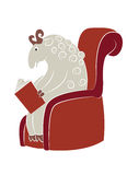 Reading sheep Stock Photos