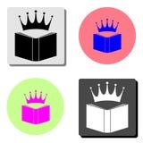 Reading. flat vector icon royalty free illustration