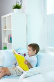 Reading stories Royalty Free Stock Photo