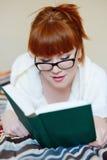Reading student Stock Image