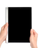 Reading The Tablet PC Stock Image
