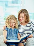 Reading tales Stock Photos