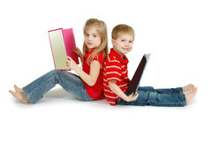 Reading Time Royalty Free Stock Image