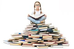 Reading time Royalty Free Stock Photography