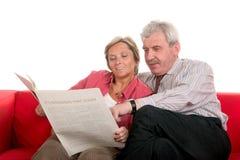 reading together Στοκ φωτογραφία με δικαίωμα ελεύθερης χρήσης