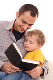 Reading together Royalty Free Stock Photography