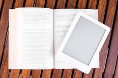 Reading traditional and modern Stock Images