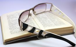 Reading and translate Royalty Free Stock Photo