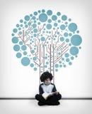 The Reading tree royalty free stock photos
