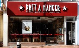 Pret a Manger frontage Stock Photo