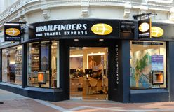 Trailfinders Store Front Royalty Free Stock Photography