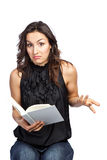 Reading woman Stock Photos