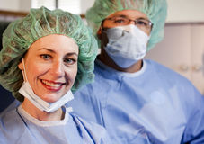 Ready For The OR Royalty Free Stock Images