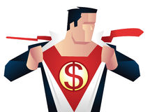 Ready for action dollar sign royalty free illustration
