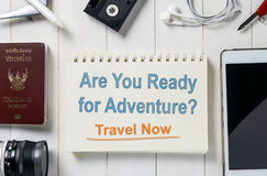 Ready for Adventure travel? Royalty Free Stock Photo
