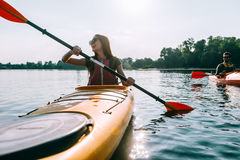 Ready for adventures. Royalty Free Stock Photography