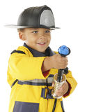 Ready, Aim, Squirt! Stock Image