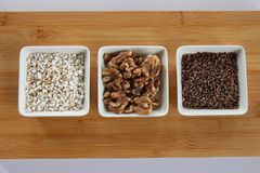 Ready for baking, best and fine ingredients stock photos