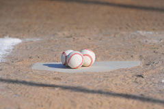 Ready for the ball game Royalty Free Stock Image