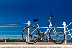 Ready for a bike ride Royalty Free Stock Images