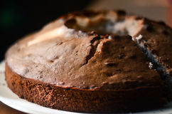 Ready cake in the kitchen Royalty Free Stock Images