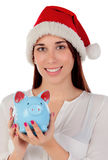 Ready for Christmas expenses Royalty Free Stock Image