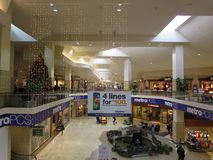 Ready for Christmas. Mall is ready for christmas stock photos