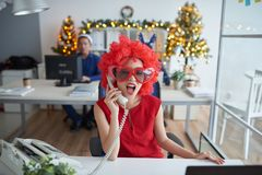 Ready for Christmas party Royalty Free Stock Photography