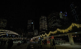 Ready for Christmas in Toronto, Canada Royalty Free Stock Image