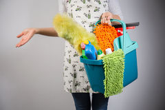 Ready for cleaning Royalty Free Stock Images