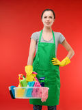 Ready for cleaning Stock Photography