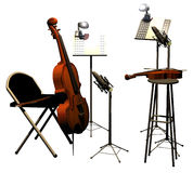 Ready for concert Royalty Free Stock Image