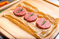 Ready for cooking meat royalty free stock images