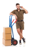 Ready for delivery Royalty Free Stock Images