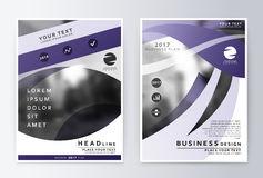 Ready design annual report business finance Stock Photos