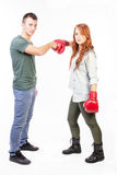 Ready for fight Royalty Free Stock Images