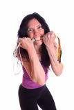 Ready for fitness training Stock Images