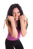 Ready for fitness training Royalty Free Stock Photography