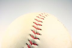 Ready for the game. Baseball or Softball Close Up Royalty Free Stock Photo