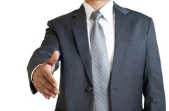 Ready for Handshake Stock Images
