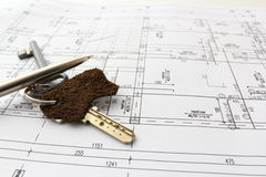 Ready for house contract Stock Photo