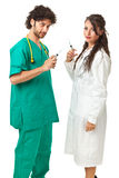 Ready for the injection? Stock Images