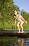 Ready for jump Royalty Free Stock Photo