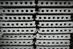 Ready-made cement wall Stock Images