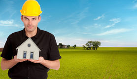 Ready made home Stock Photography