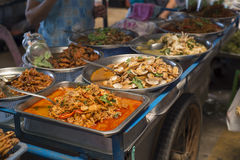 Ready-made Thai food. Stock Images