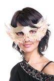 Ready for the masquerade Royalty Free Stock Photos