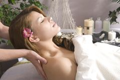 Ready for massage Royalty Free Stock Images